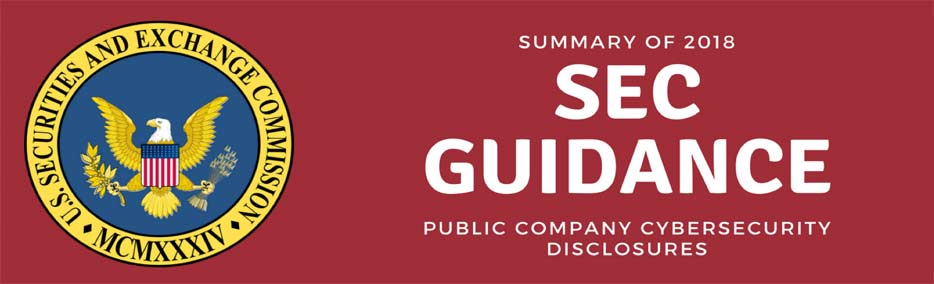 Summary of 2018 SEC Guidance on Public Company Cybersecurity Disclosures